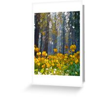 Distorted Dreams By Time Greeting Card