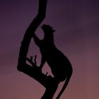 Leopard silhouette by Jane Horton
