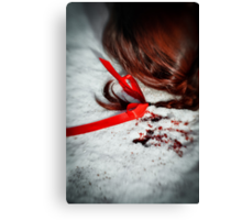 Her Red Hair  Canvas Print