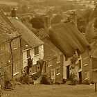 Gold Hill (sepia) by Images Abound | Neil Protheroe