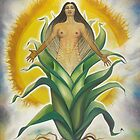 Corn Goddess by Mario Torero