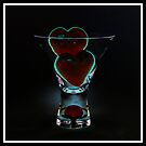 V Day - The Red Blob Glass - Week 5 by Wendi Donaldson