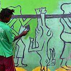 Green Paint by Shamila Chady