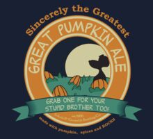 It's the Great Pumpkin Ale Charlie Brown by AndreeDesign