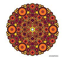 Mandala 37 Coloured v1.0 Prints, Cards & Posters Photographic Print