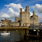 Caernarfon Castle by Ian Richardson