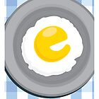 E is for Egg by Jason Jeffery