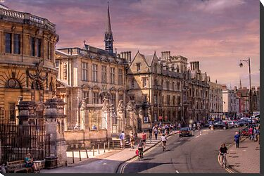 Sheldonian Theatre - Oxford, England UK by Mark Richards