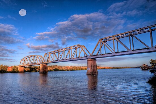 Murray Bridge Australia  City new picture : ... Railway Bridge at Murray Bridge, South Australia by Mark Richards
