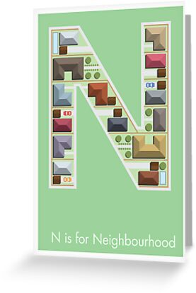 N is for Neighbourhood by Jason Jeffery