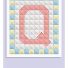 Q is for Quilt by Jason Jeffery