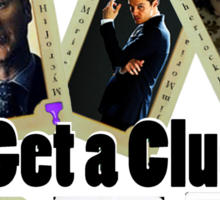 Get A Clue Sticker