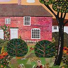 Summer Evening, Chawton Cottage by Amanda White