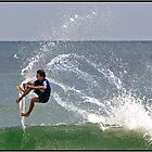 Surfing 5 by John Van-Den-Broeke