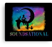 Soundsational Canvas Print