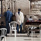 Prayer at the Wailing Wall by Tony Roddam