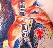 Clarinet player. by Dan Wilcox
