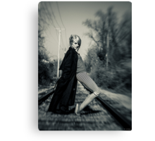 ''She Moves'' Canvas Print