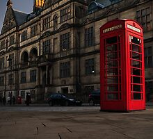 TELEPHONE BOX by Shaun Baldwin