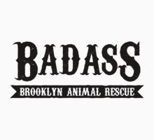 Badass Brooklyn Animal Rescue Tee by badassbk