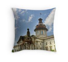 SC Statehouse Throw Pillow
