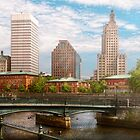 City - Rhode Island - Providence - The city of Providence, RI by Mike  Savad