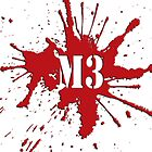 M3 Blood Spatter Logo by Machiavella3