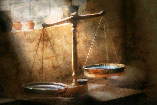 Lawyer - Scale - Balanced law by Mike  Savad