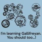 I Am Learning Gallifreyan by Leylaaslan