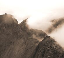 From Sgurr Mhic Choinnich Back to The Inaccessible Pinnacle, Skye by ScotLandscapes