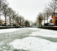 WINTER IN MY HOMETOWN (Sunday 12th feb 2012) by Johan  Nijenhuis
