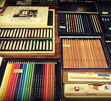 Art Supplies by Caroline Fournier