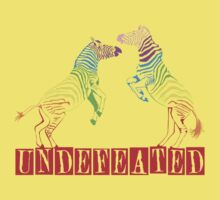 Zebras Undefeated Rainbow by KustomByKris