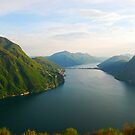 Lake of Lugano by Michael Brewer