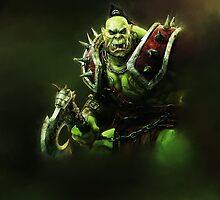 Epic Green Orc by Ryadasu