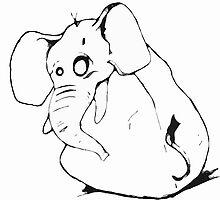 BEle Elephant by bluemagic