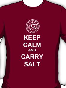Keep Calm and carry salt t-shirt T-Shirt