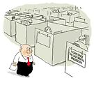 Comic for the workplace by Peter Kennedy