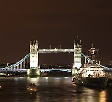 Tower Bridge - London by Llewellyn Cass