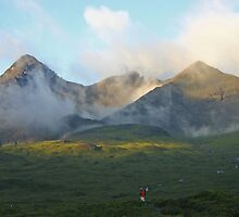Early Mist Coire a' Bhasteir, Skye by ScotLandscapes
