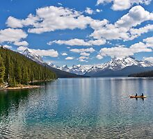 Maligne Lake by Alex Preiss