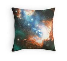 In Search of Endless Worlds: Hominid to Hubble Throw Pillow