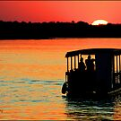 Zambezi Sunset by Greg Parfitt