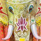 Thai Painted Elephant by Laura J. Holman