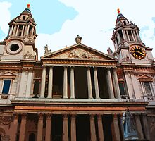 St Paul's Cathedral , London by cycreation