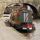Long Boat on the  Lancaster Canal by Billlee