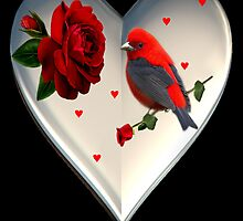 "*•.¸♥♥¸.•*CARDINAL HEART OF LOVE ""DID I TELL U THAT I LOVE U""??*•.¸♥♥¸.•* by ╰⊰✿ℒᵒᶹᵉ Bonita✿⊱╮ Lalonde✿⊱╮"