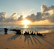 sunrise at ss dicky  by warren dacey