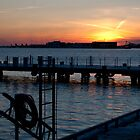 Sunset at the Harbourfront by Gary Chapple