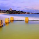 Coogee Beach Baths, New South Wales, Australia by Michael Boniwell